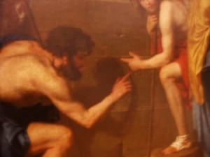 Los pastores descubren el lema del Priorato de Sión