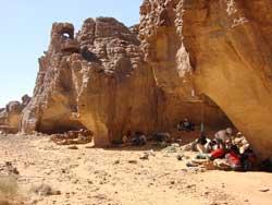 Campamento en Sefar